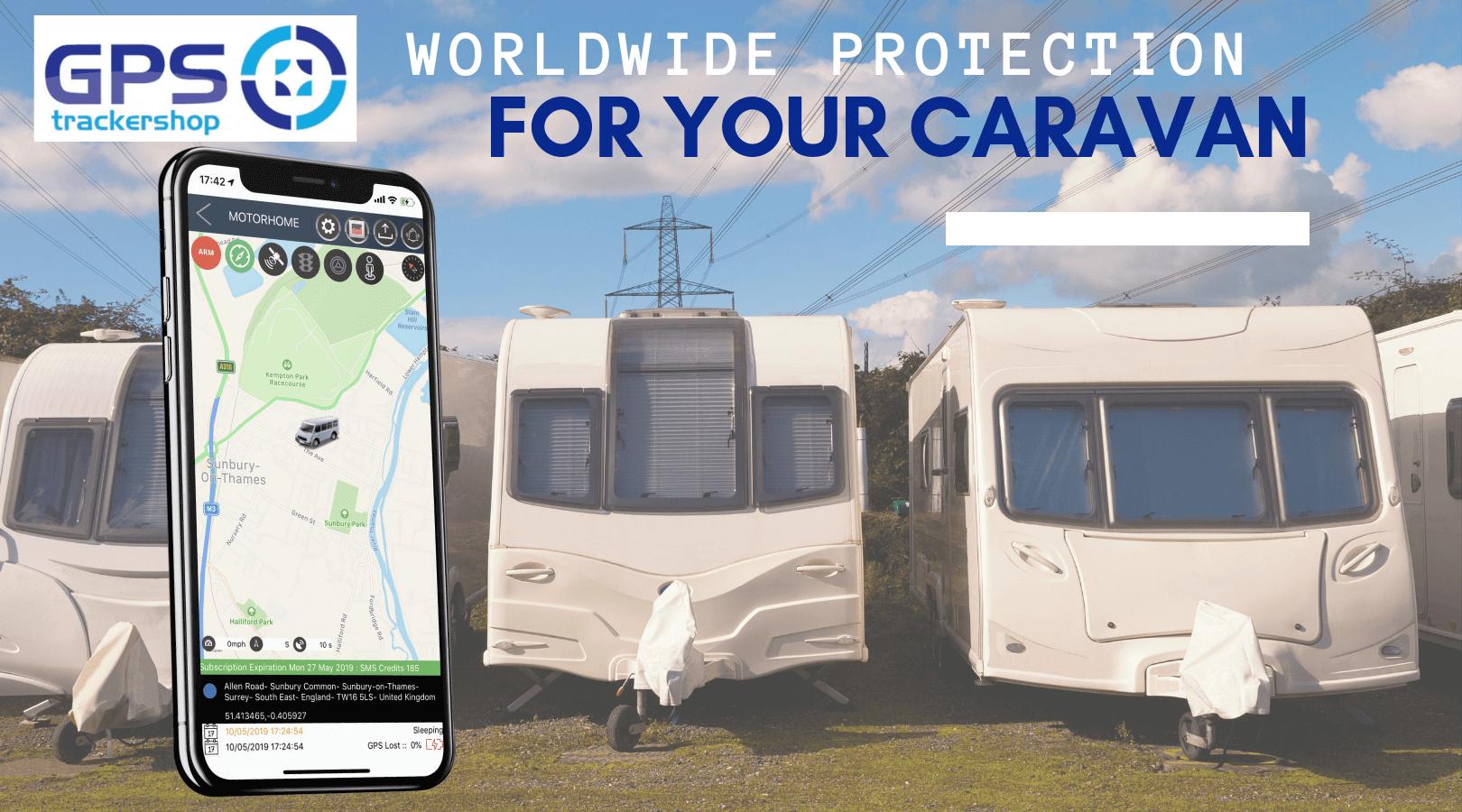 The Best Caravan Trackers For You   Trackershop UK
