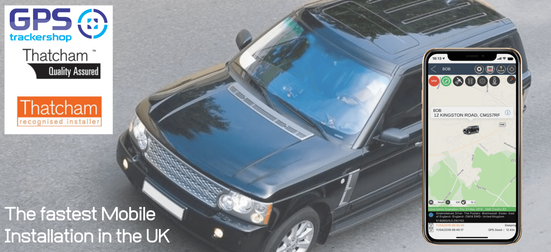 This is why you need a Range Rover Tracker | Trackershop UK