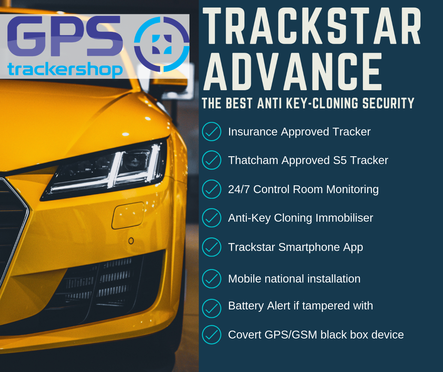 Trackstar Advance  The Best GPS Tracker and Immobiliser