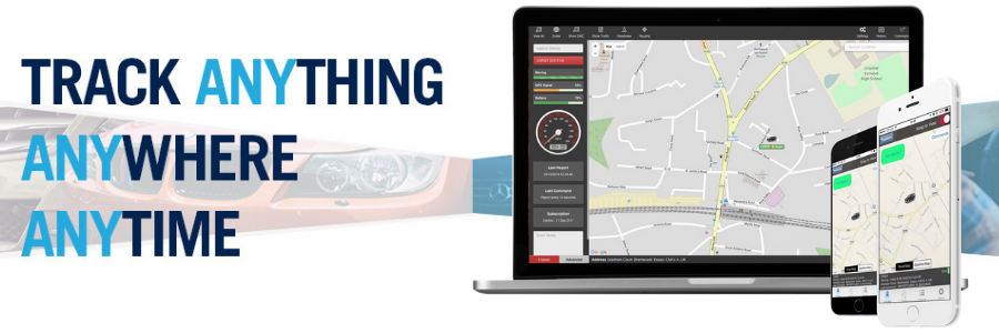 Track anything,  anywhere, any time.