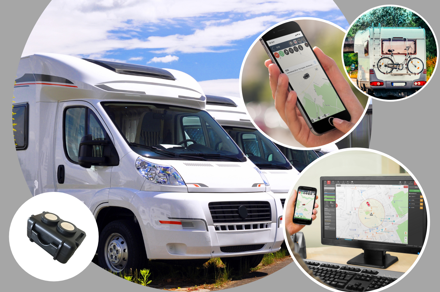 Caravan and Motorhome Trackers