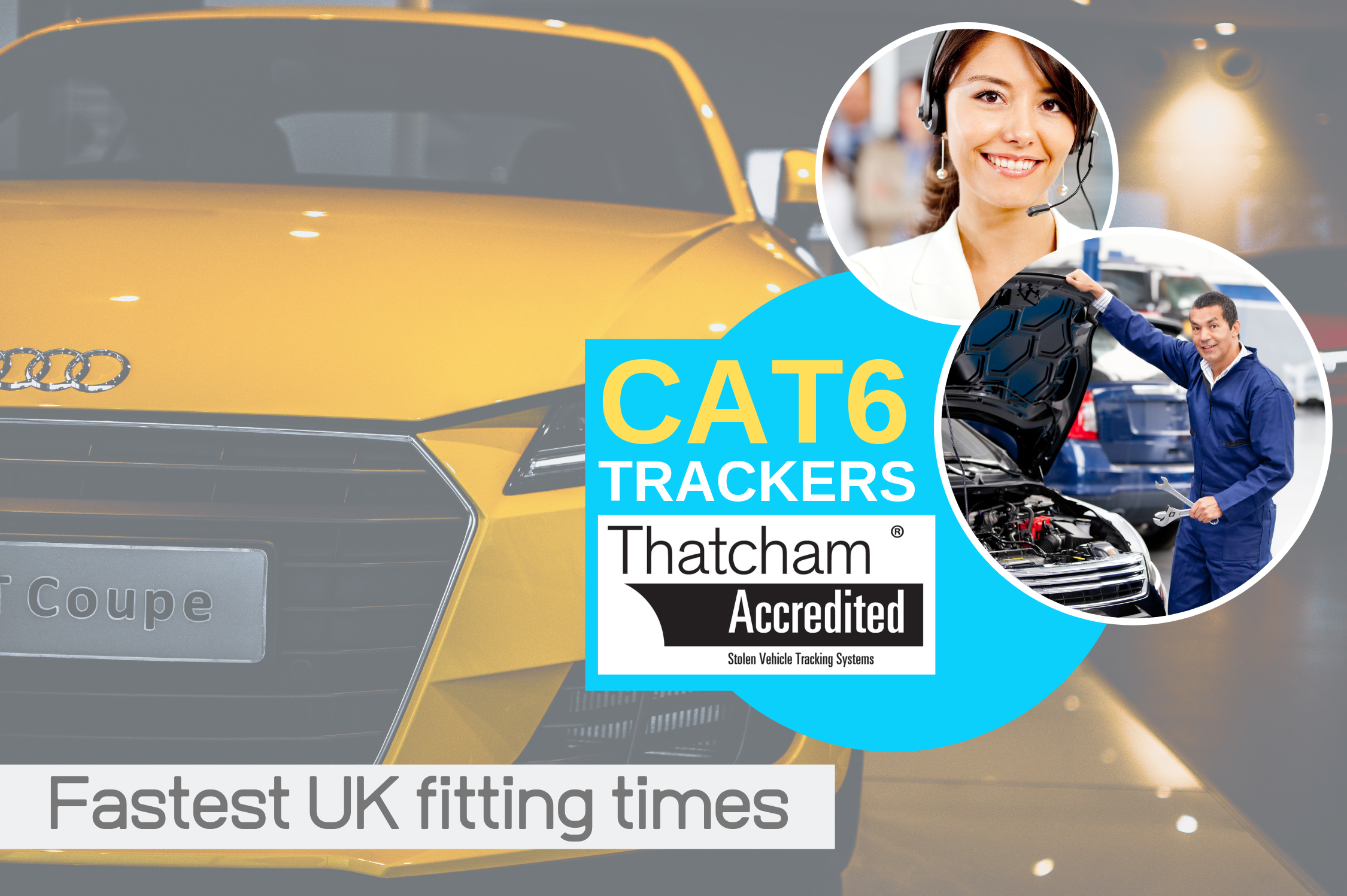 CAT 6 Trackers