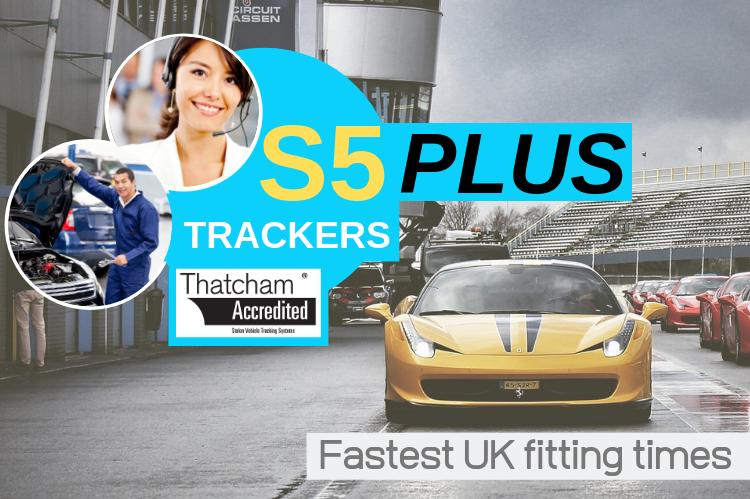 CAT S5 PLUS Trackers