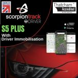 ScorpionTrack S5 PLUS. With Driver Immobilisation