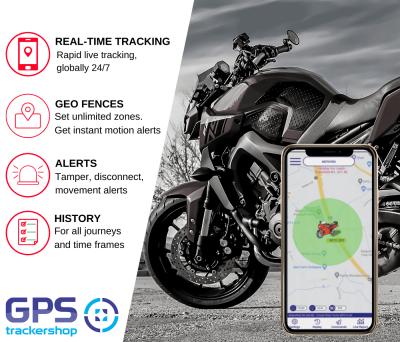 TS10 Motorcycle Tracker