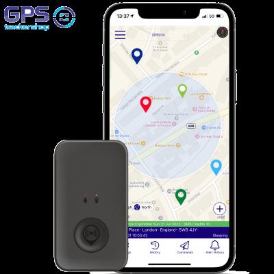 THE PRO POD 6: Small Personal GPS Tracker.