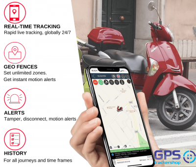 GPS Scooter Tracker