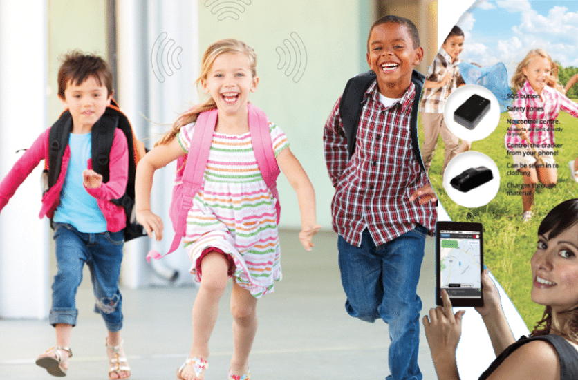 CHILD TRACKER: SAFETY FOR THEM, PEACE OF MIND FOR YOU!