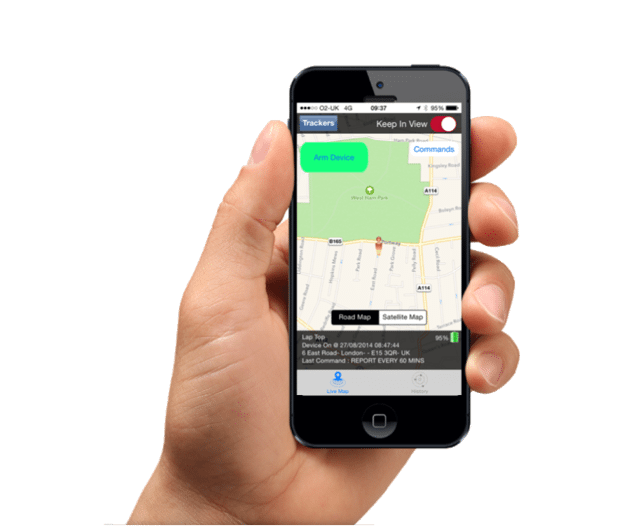 GPS TRACKING ON YOUR MOBILE