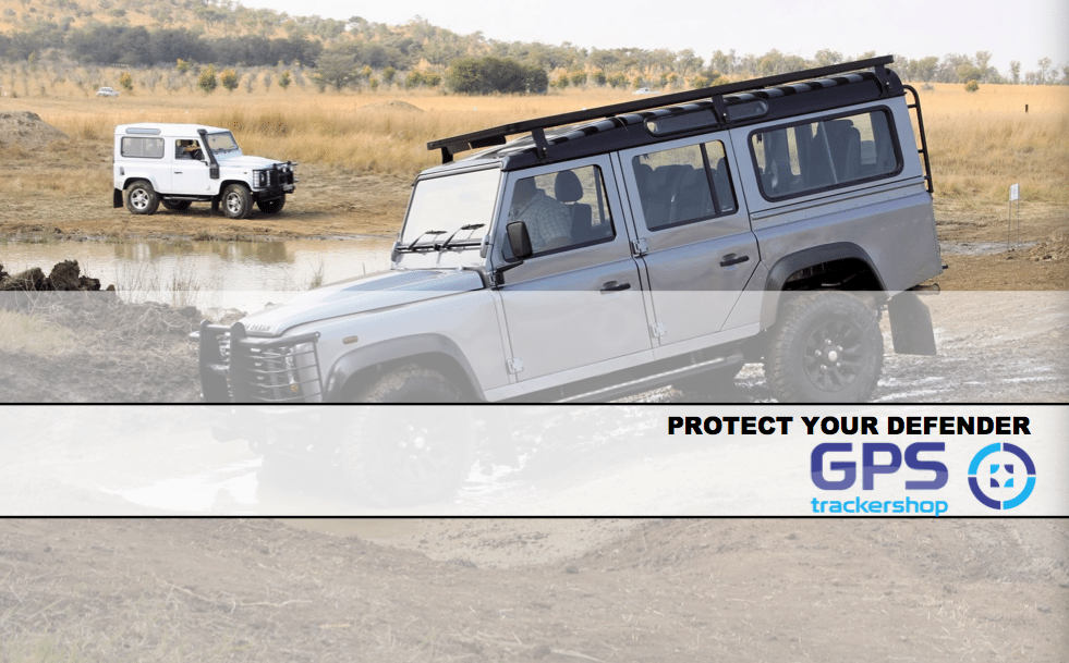 DEFEND YOUR LAND ROVER WITH A GPS CAR TRACKER