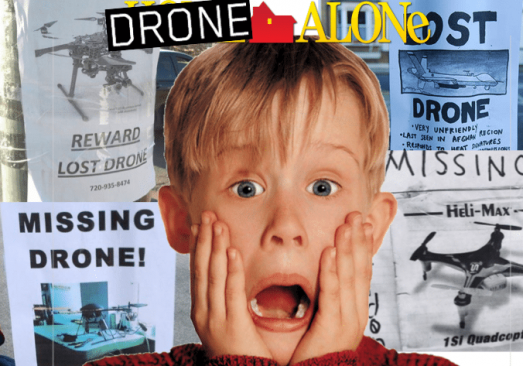 DRONE TRACKERS: DON'T LEAVE YOUR DRONE ALONE THIS CHRISTMAS