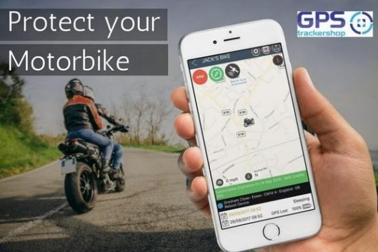 MOTORCYCLE GPS TRACKERS - SECURITY AGAINST THEFT