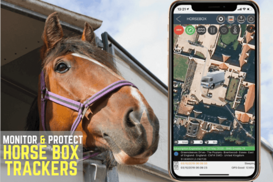HORSE BOX GPS TRACKERS